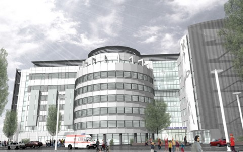 """Extinderea – modernizarea și echiparea Spitalului Clinic de Copii """"Doctor Victor Gomoiu"""""""